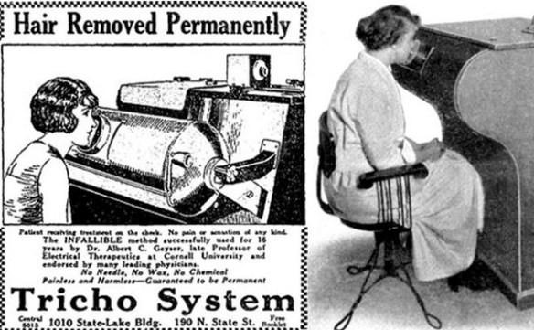 x-ray hair removal machine