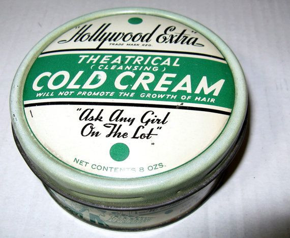 1950s cold cream