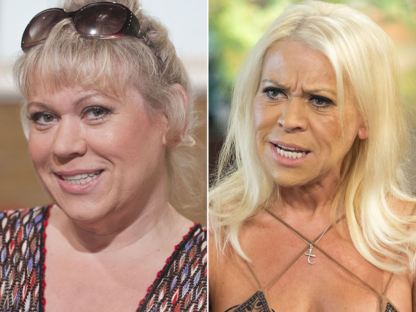 Tina-Malone before and after weight loss