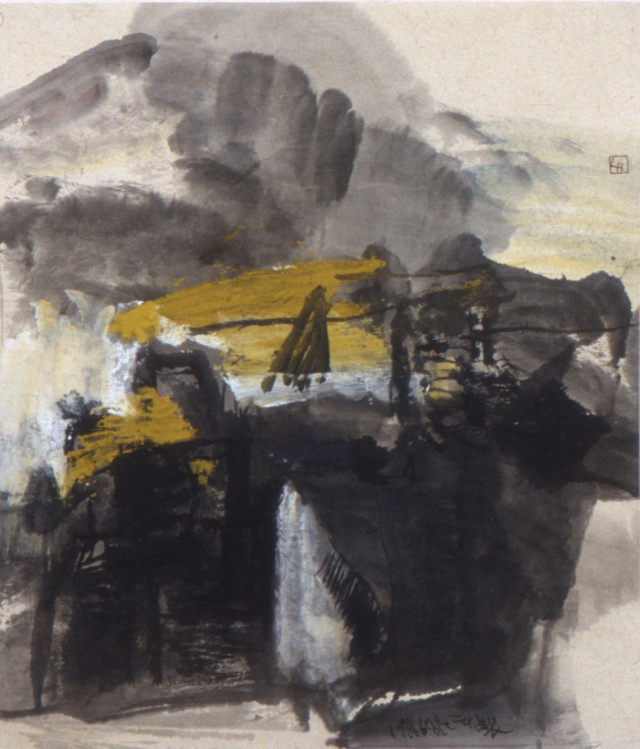 Leng Hong 92x80 1986