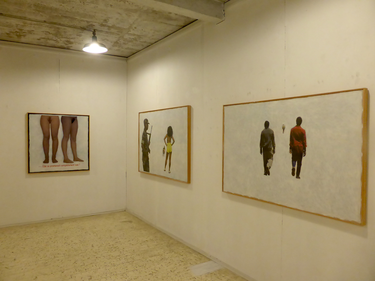 "Exposition "" Figures nues ... """