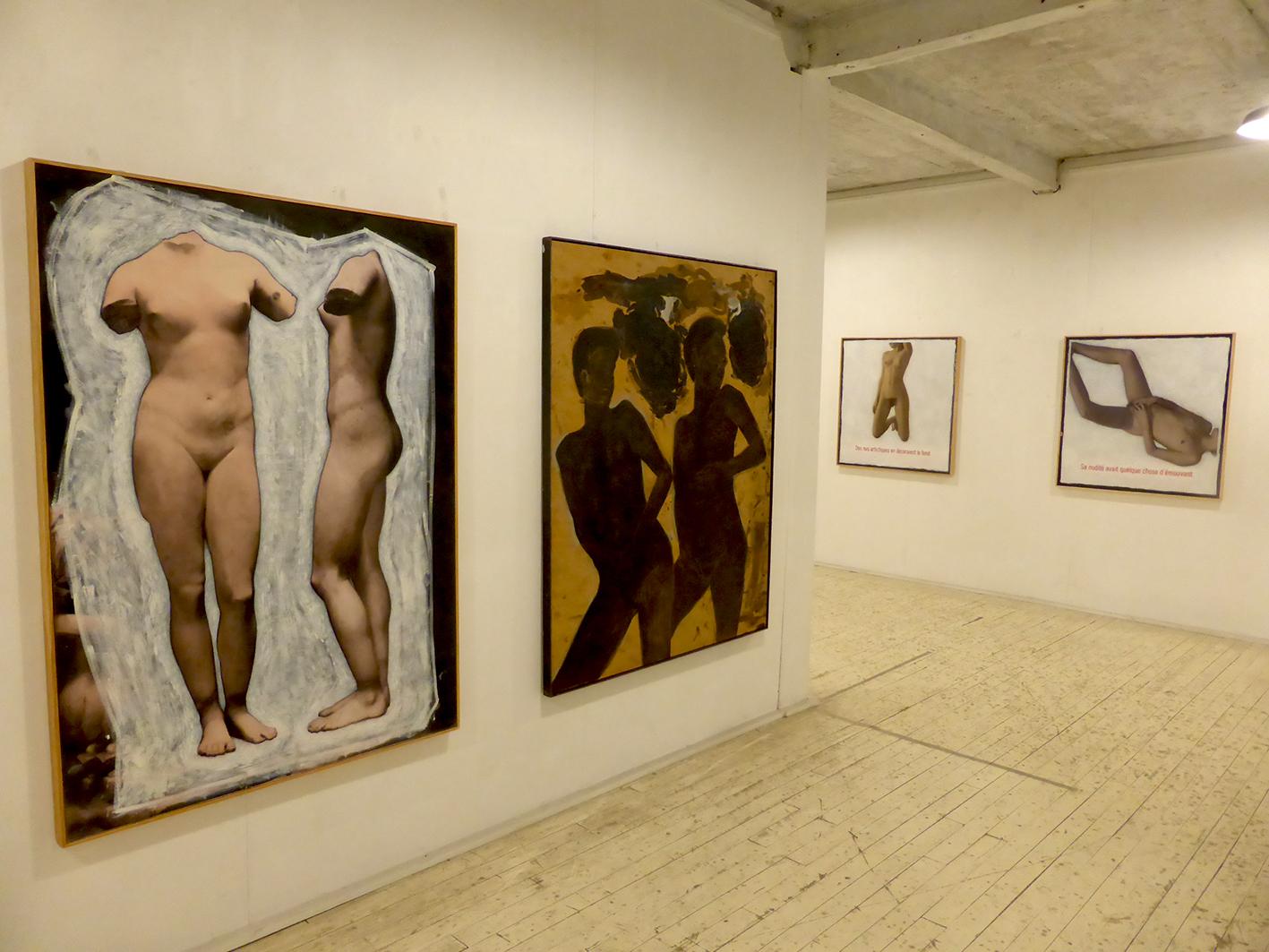 "Exposition "" Figures nues ... """