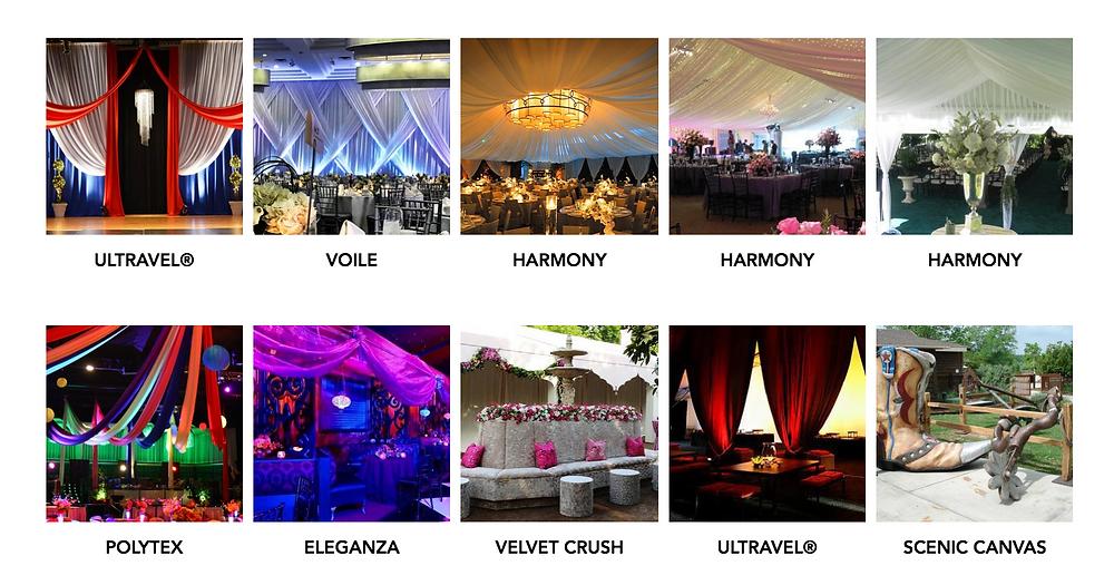 Event and Decor Fabrics Gallery
