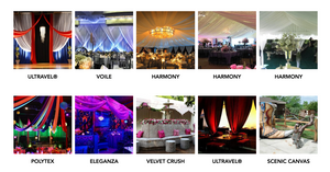Event and Decor Fabrics Gallery