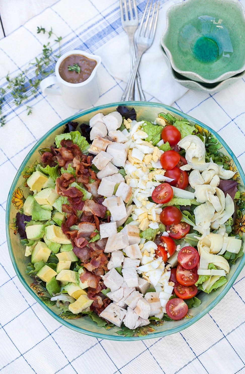 Cobb Salad Against The Grain