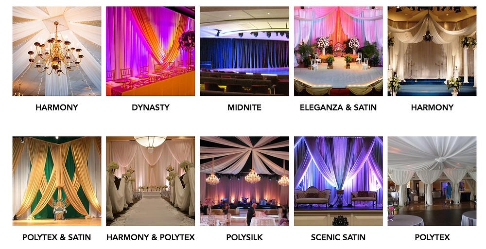 Scenicsource Fabrics Gallery | Event and Decor Fabrics