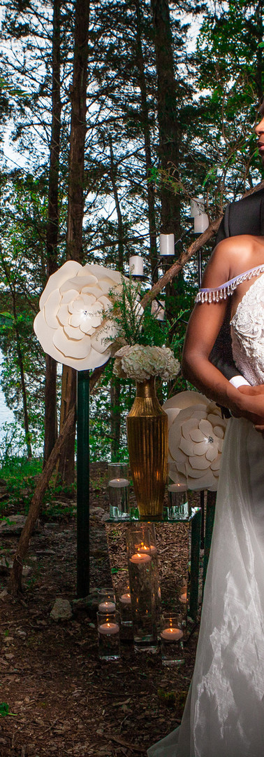 Styled Bridal Photo Shoot in the Forest