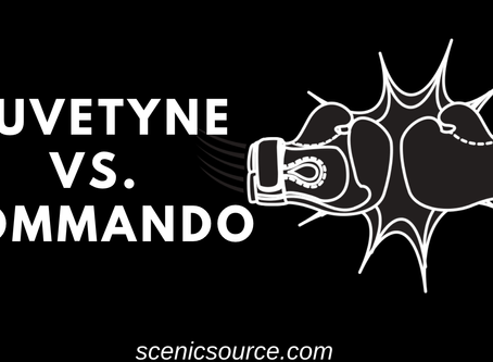 Duvetyne vs. Commando....everything you need to know about blackout fabrics.