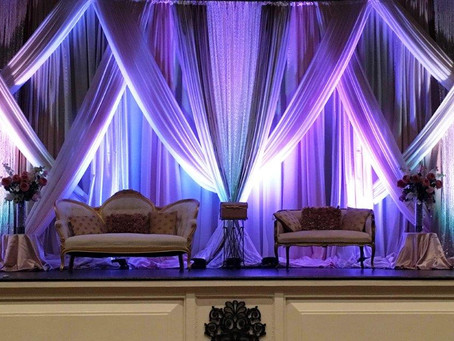 Fabric Trends for 2019 Fall and Winter Weddings