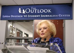 Linda Deutsch Honored by Monmouth University