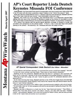 Linda Deutsch - AP Wire World