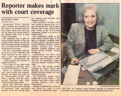 Linda Deutsch - The Enterprise News