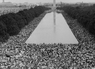 Linda Deutsch, recounts covering the 1963 civil rights march on Washington 50 years ago.