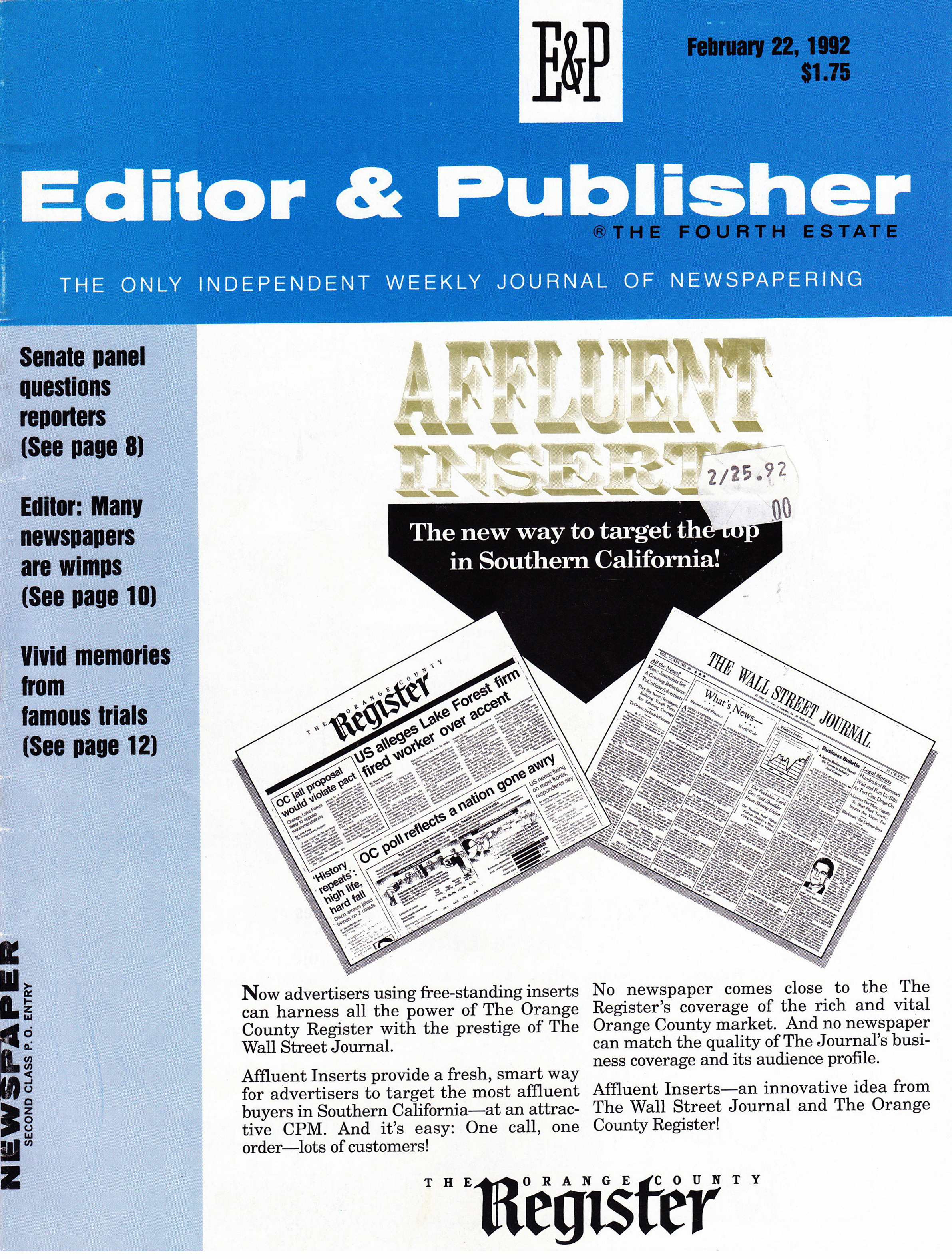 Linda Deutsch - Editor & Publish