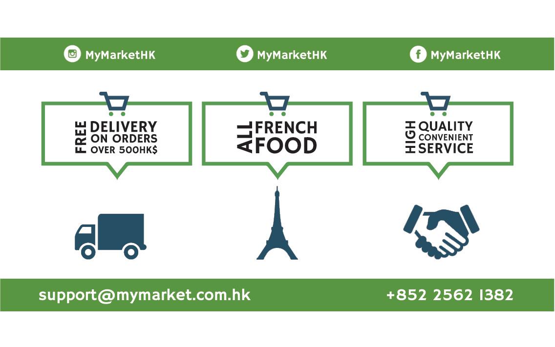 Mymarket business card back