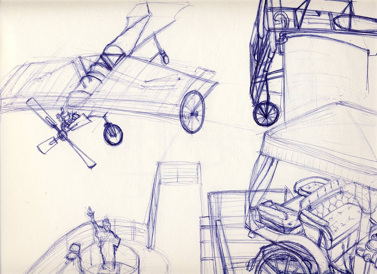 Musee des arts & metiers sketches
