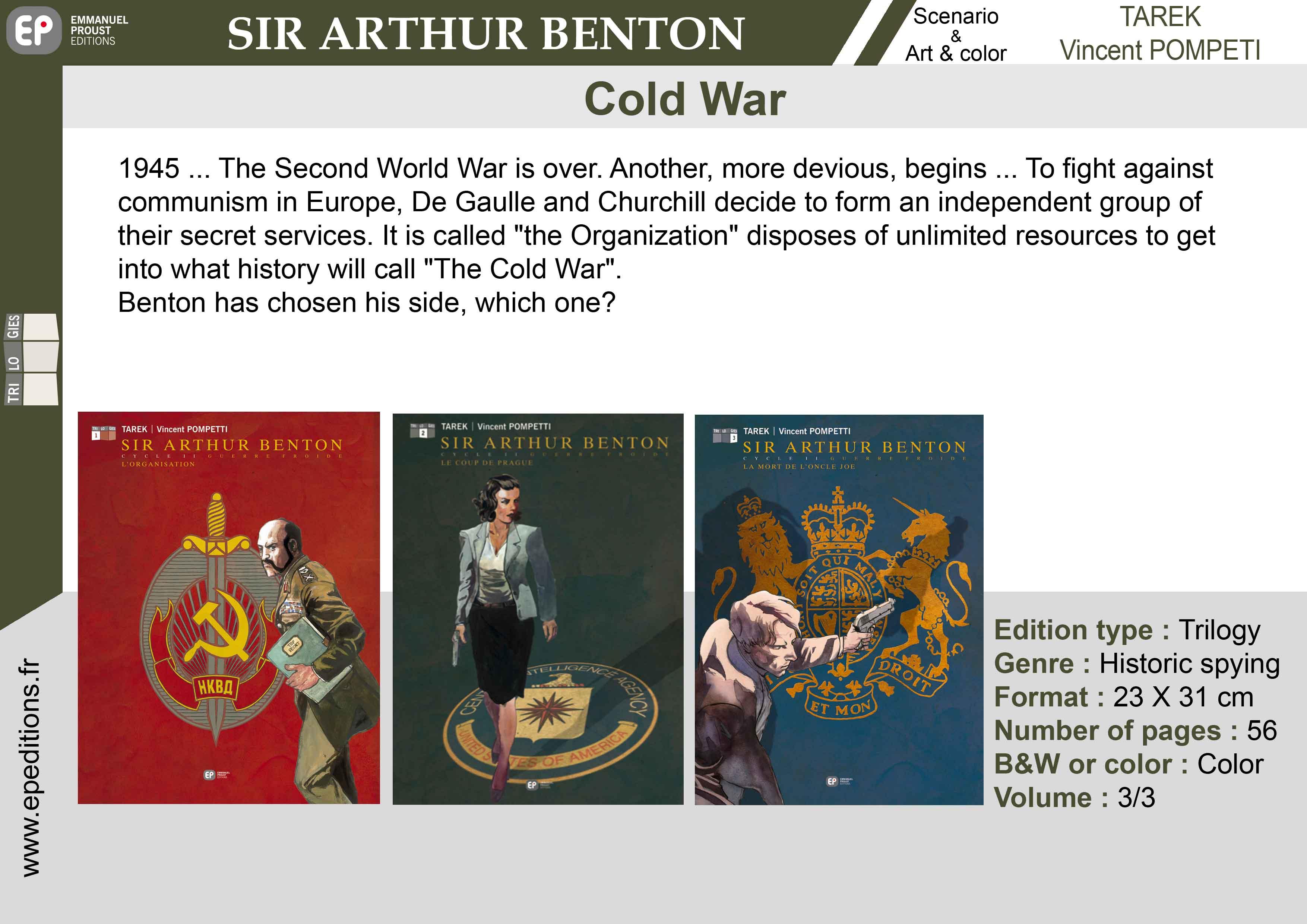 Sir Arthur Benton comics