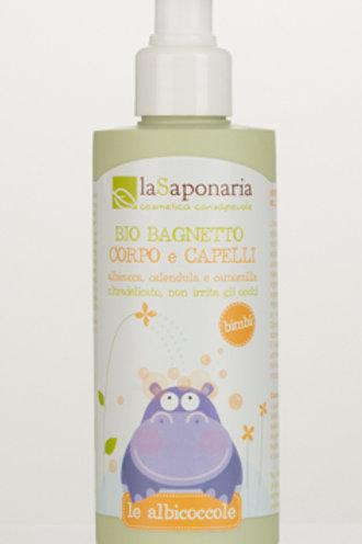 La Saponaria Bio bagnetto corpo e capelli