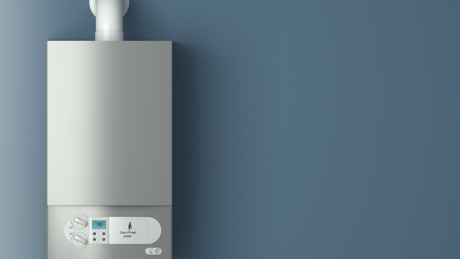 Gas-fired boiler