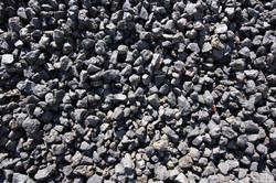 3/4in Black Lava