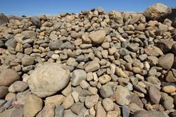 6 inch Sierra Tan Cobble