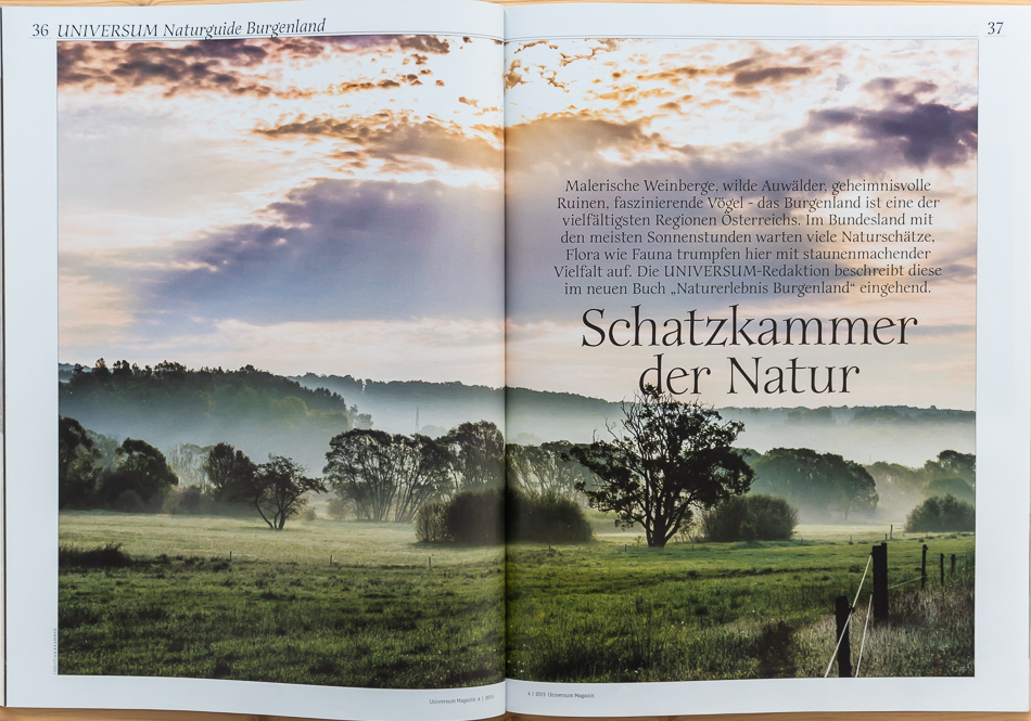 UNIVERSUM - Magazin April 2015