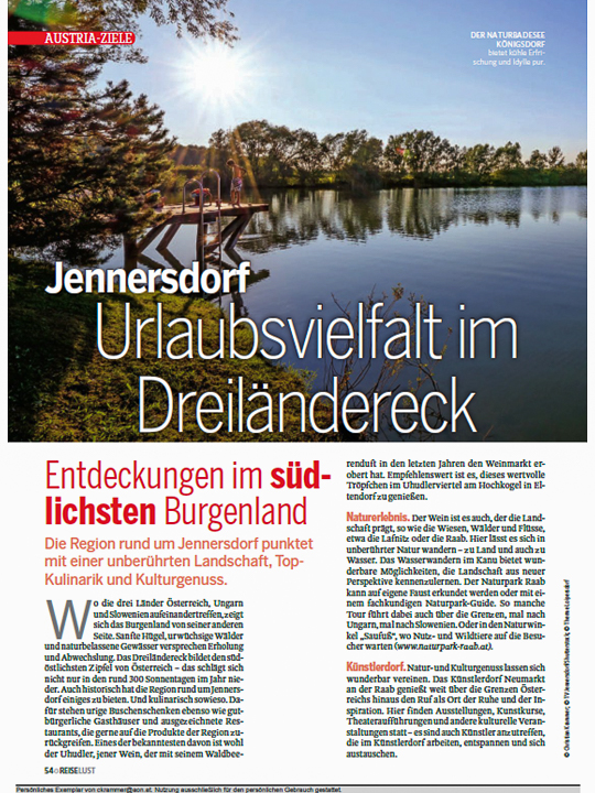 REISELUST - Magazin September 2019