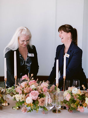 Wedding Planners Laughing