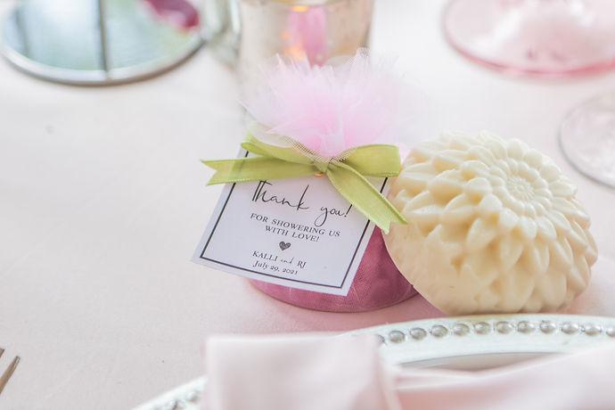 Dish Soap Wedding Favors