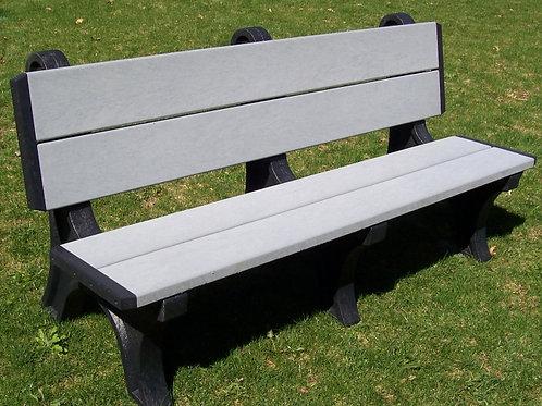 6 Foot Deluxe Park Bench
