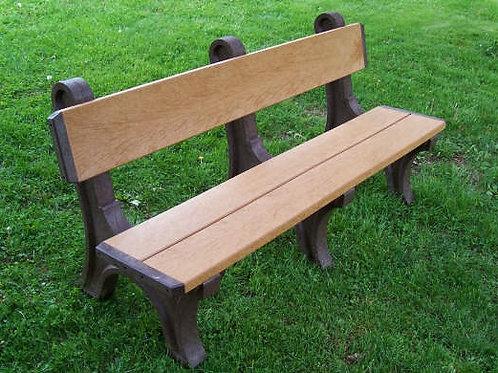 6 Foot Standard Park Bench