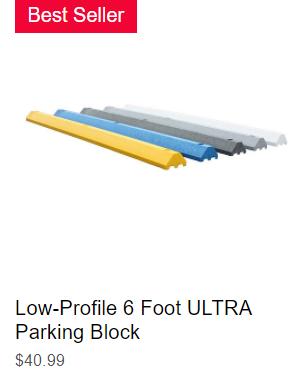 6' Low-Profile ULTRA Parking Block