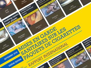 118 pays ont adopté les photos chocs sur les paquets de cigarettes