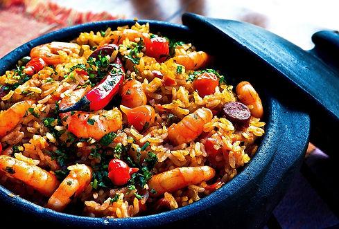 Spanish Prawn and Chorizo Rice