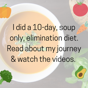 Soup's Up! 10-Day Elimination Diet