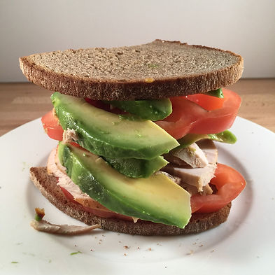 Rye bread with avocado, pesto and turkey Michelle Boehm nutritional therapy nutritionist London healthy food recipes easy happy motivation fit gym fitness crossfit diet body protein wellness wellbeing support supplements tips lifestyle eating life love smile wholefood vegetarian vegan