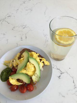 Balanced Breakfast on the Detox Programme