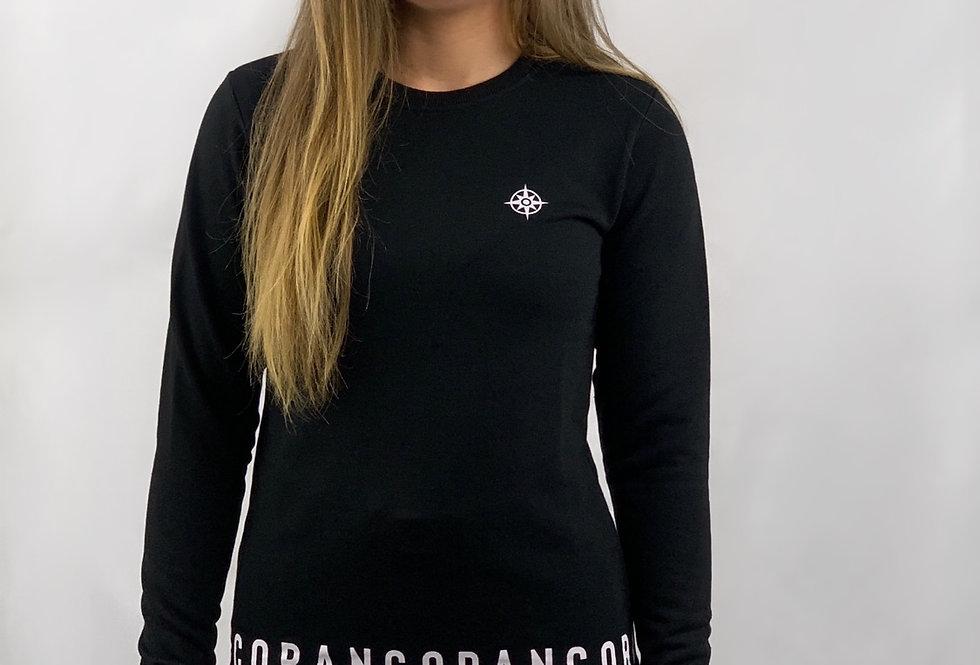 Black Signature Sweater