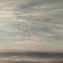 Winter beach  Sold