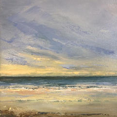 Sunset Sea  Sold