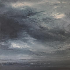 Charcoal Skies  Sold