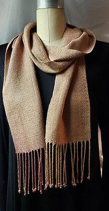 Handwoven Silk Scarf-Natually dyed