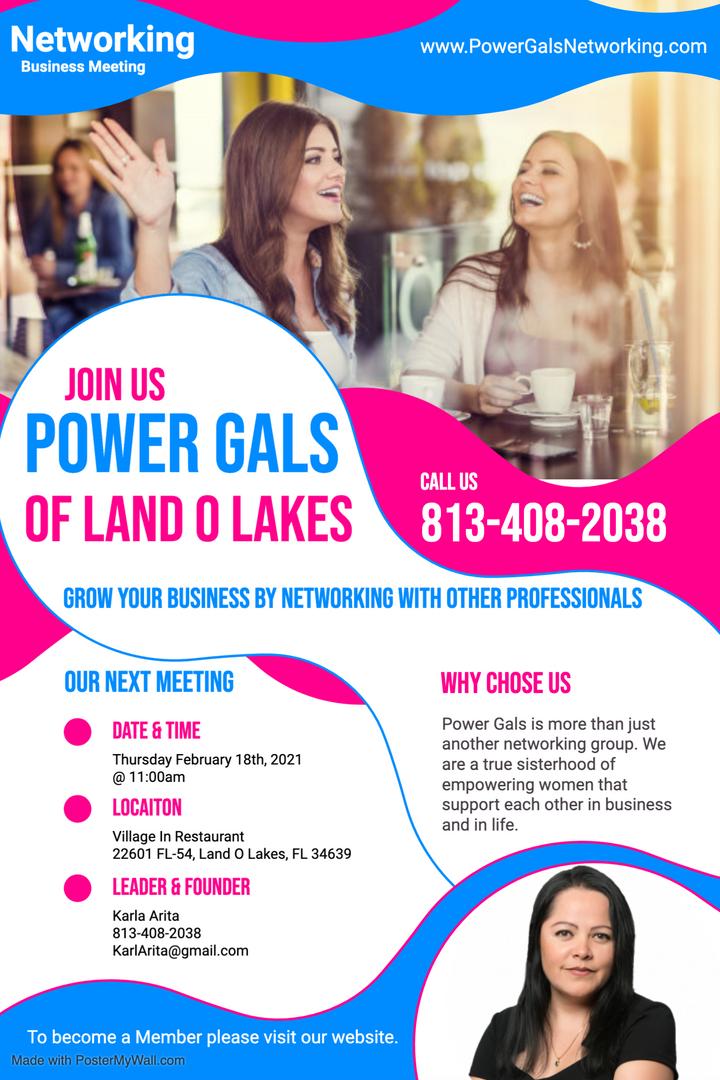 Power Gals of Land O Lakes