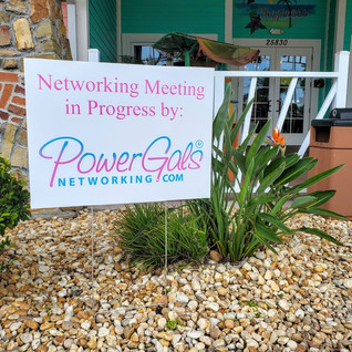 $18 Double Sided Power Gals Yard Sign