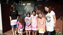 Draw your ruffle skirt and Wear It! - The perfect way to learn about colour blending