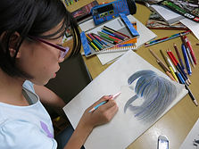 kids-art-class-nw3-children-creative-finchley road-hampstead-lesson-after school-creative young artists