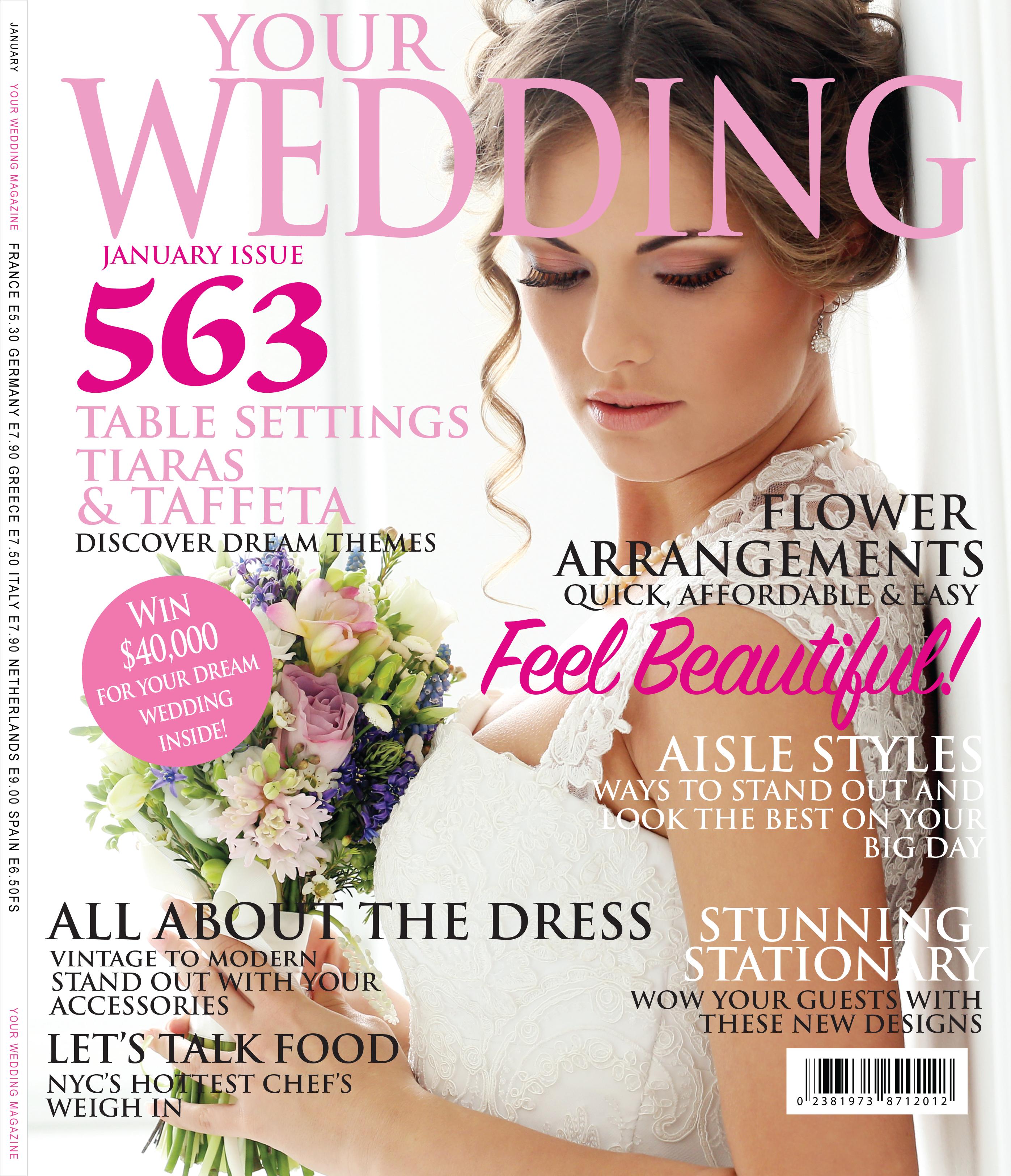 WEDDING MAGAZINE COVER