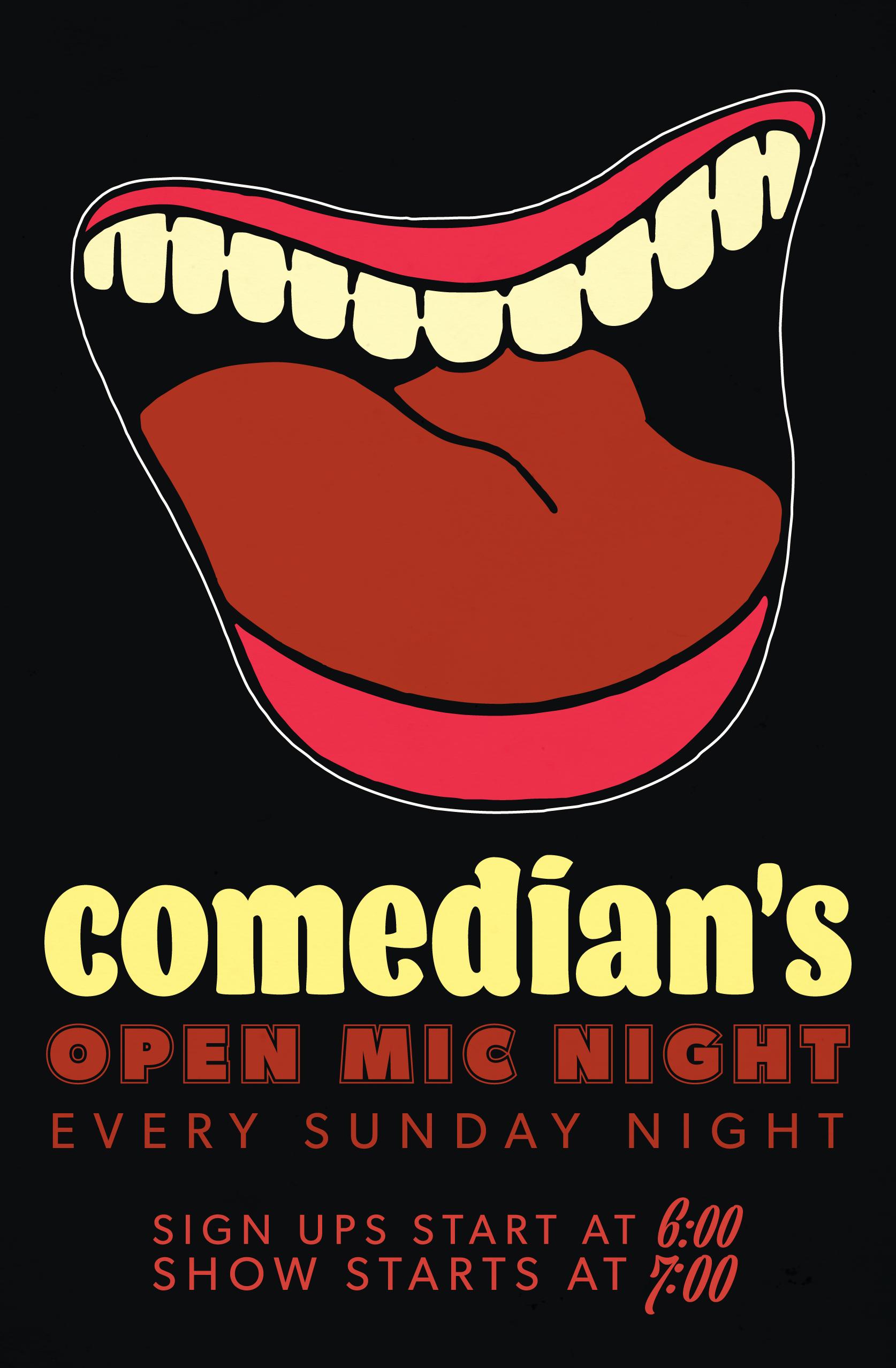 Comedy Club Signage