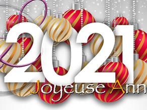 Je vous souhaite une merveilleuse année 2021 💖🦋🌟🌎🥳