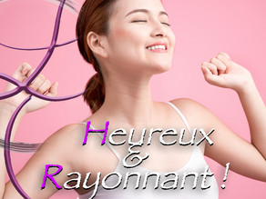 Heureux & Rayonnant 💕🌹🦋😘🌈🌸❤️🌞